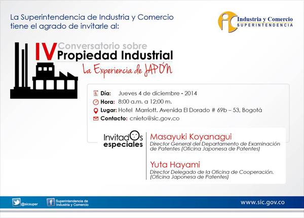 Superindustria y oficina de patentes de jap n pondr n en for Oficina de patentes
